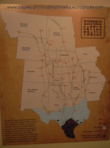 Cowboy Exhibit maps
