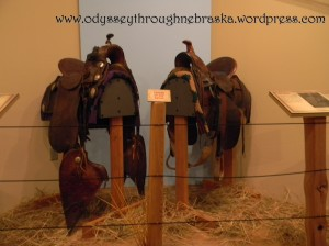 Cowboy Exhibit Saddles