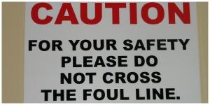 Hollywood Bowl Foul Sign