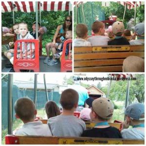 Zoo Train Collage 2