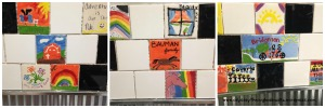Bathroom Tile Collage