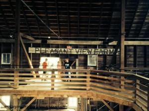 Barn Pleasant View Farm with Kids text