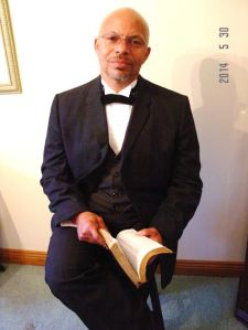 Booker T. Washington portrayed