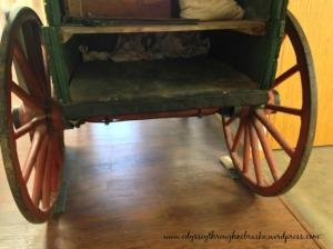 Mayhew Cabin slave wagon