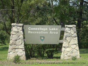 Conestoga Lake Sign