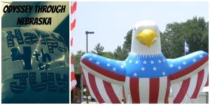 July 4th Eagle & Balloon
