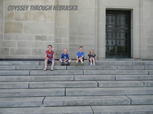 July 4th Kids on Capital Steps