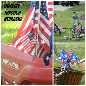 July 4th Rider Collage