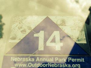 Nebraska Park Permit